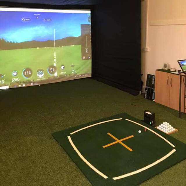 Golf Swing Studio ready for action