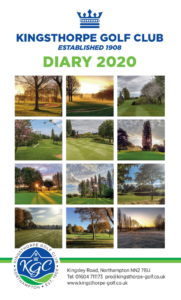 KGC Diary Cover 2020